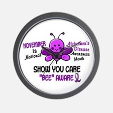 Alzheimers Awareness Month 4.1 Wall Clock