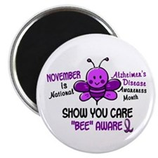 Alzheimers Awareness Month 4.1 Magnet