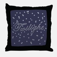 Twilight Stars Throw Pillow