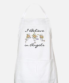 I Believe in Angels BBQ Apron