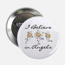 """I Believe in Angels 2.25"""" Button"""