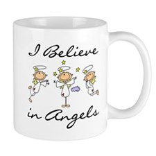 I Believe in Angels Mug