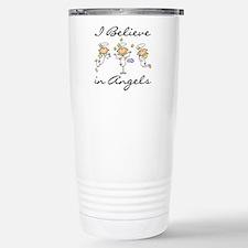 I Believe in Angels Travel Mug
