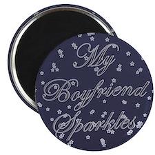"""""""My Boyfriend Sparkles"""" Magnet"""