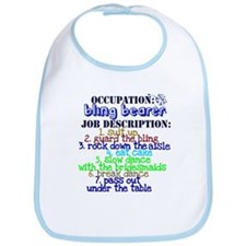 Occupation Bling Bearer Blue Bib