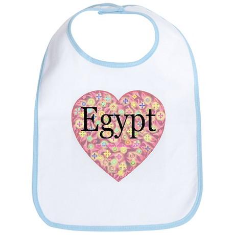 LOVE Egypt Bib