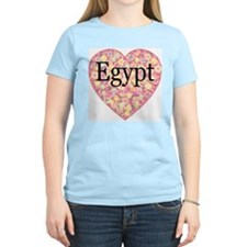 LOVE Egypt Women's Pink T-Shirt