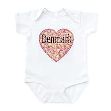 LOVE Denmark Infant Creeper