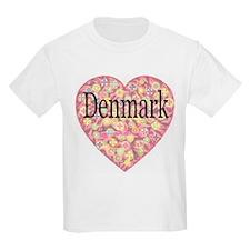 LOVE Denmark Kids T-Shirt