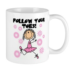 Follow Your Toes Mug