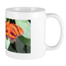 Orange Tiger Butterfly Mug