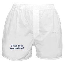 Thaddeus the bachelor Boxer Shorts