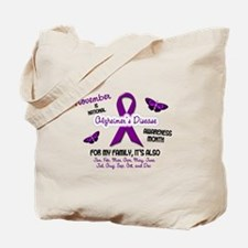 Alzheimers Awareness Month 2.2 Tote Bag