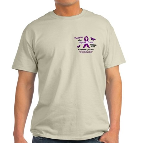 Alzheimers Awareness Month 2.2 Light T-Shirt