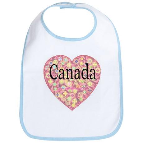 LOVE Canada Bib