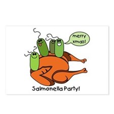 Salmonella Party Postcards (Package of 8)