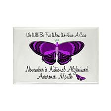 Alzheimers Awareness Month 3.1 Rectangle Magnet