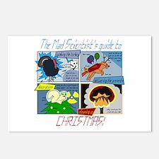 Xmas Evil Genius Postcards (Package of 8)