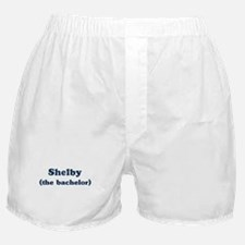 Shelby the bachelor Boxer Shorts