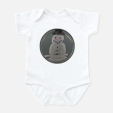 Snowman Infant Bodysuit