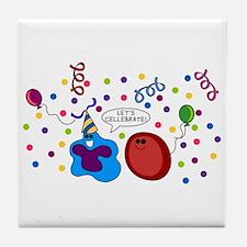 Let's Cellebrate Tile Coaster
