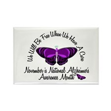 Alzheimers Awareness Month 3.2 Rectangle Magnet