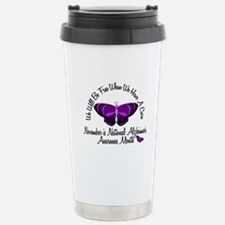 Alzheimers Awareness Month 3.2 Travel Mug