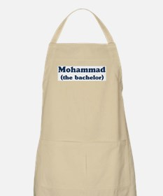 Mohammad the bachelor BBQ Apron