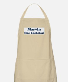 Marvin the bachelor BBQ Apron
