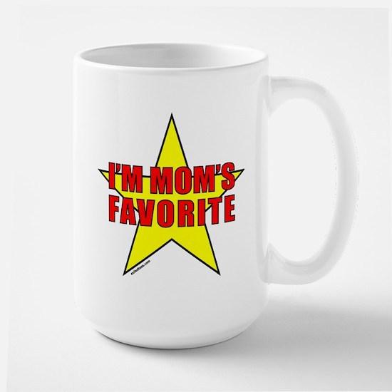 I'M MOM'S FAVORITE Large Mug