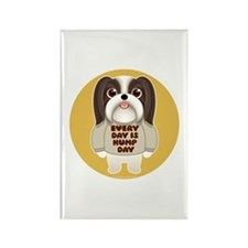 HUMP DAY Shih Tzu Rectangle Magnet