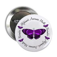 """Alzheimers Awareness Month 3.3 2.25"""" Button"""
