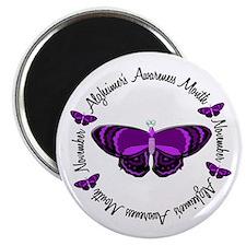 Alzheimers Awareness Month 3.3 Magnet