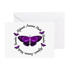 Alzheimers Awareness Month 3.3 Greeting Card