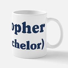 Kristopher the bachelor Mug