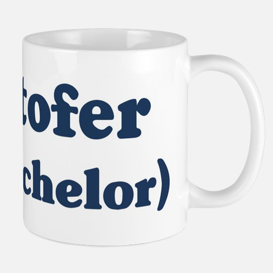 Kristofer the bachelor Mug
