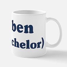 Reuben the bachelor Mug