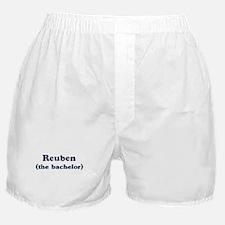 Reuben the bachelor Boxer Shorts