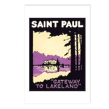 Saint Paul Minnesota Postcards (Package of 8)