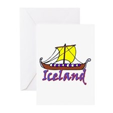 IS-1 Longboat Greeting Cards (Pk of 10)