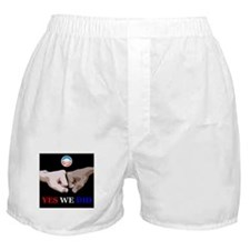 Yes We Did FistBump Boxer Shorts