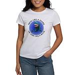 Swim Like a Shark or Sink Lik Women's T-Shirt