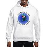 Swim Like a Shark or Sink Lik Hooded Sweatshirt