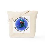 Swim Like a Shark or Sink Lik Tote Bag