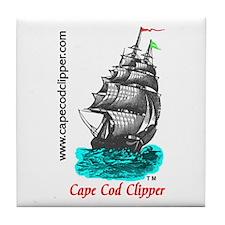 Clipper Ship Tile Coaster