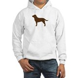Chocolate lab Hooded Sweatshirt