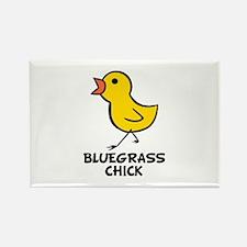 Bluegrass Chick Rectangle Magnet