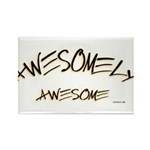Awesomely Awesome Rectangle Magnet (100 pack)