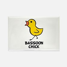 Bassoon Chick Rectangle Magnet