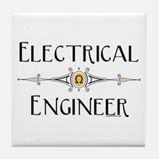 Electrical Engineer Line Tile Coaster